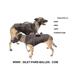 Gilet de protection KEVLAR pour chien de chasse