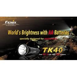 FENIX TK40 - 630 lumens