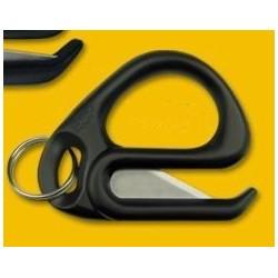 Couteau spécial Menotte jetable textile HANDCUFF