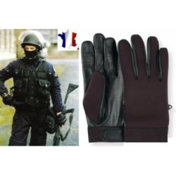 """Gants en Néoprène + cuir spécial intervention """"spécial fouille"""""""