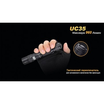FENIX UC35- 960 lumens rechargeable