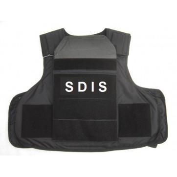 Gilet SDIS  III+ (armes de guerre) niveau III+ stand alone en POLYÉTHYLÈNE