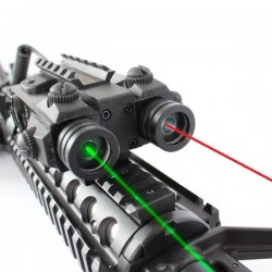 Viseur tactique laser rouge + vert